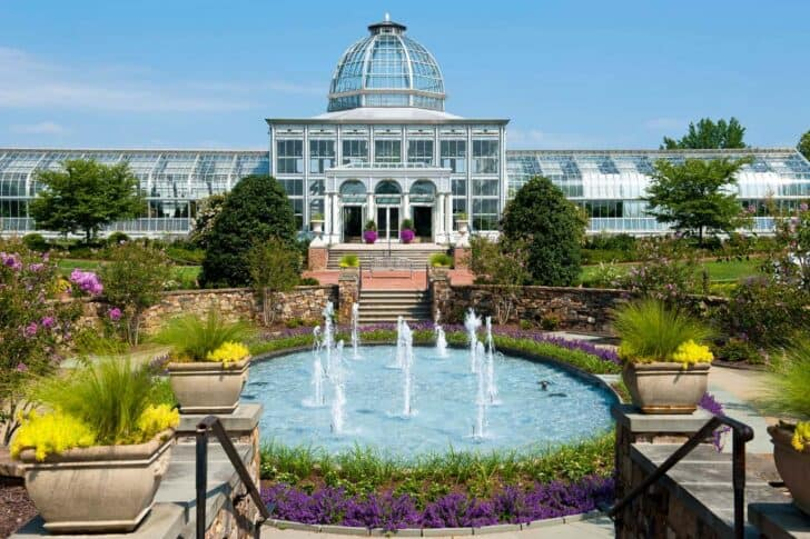 The Most Appealing Botanical Gardens across United States Landscapes
