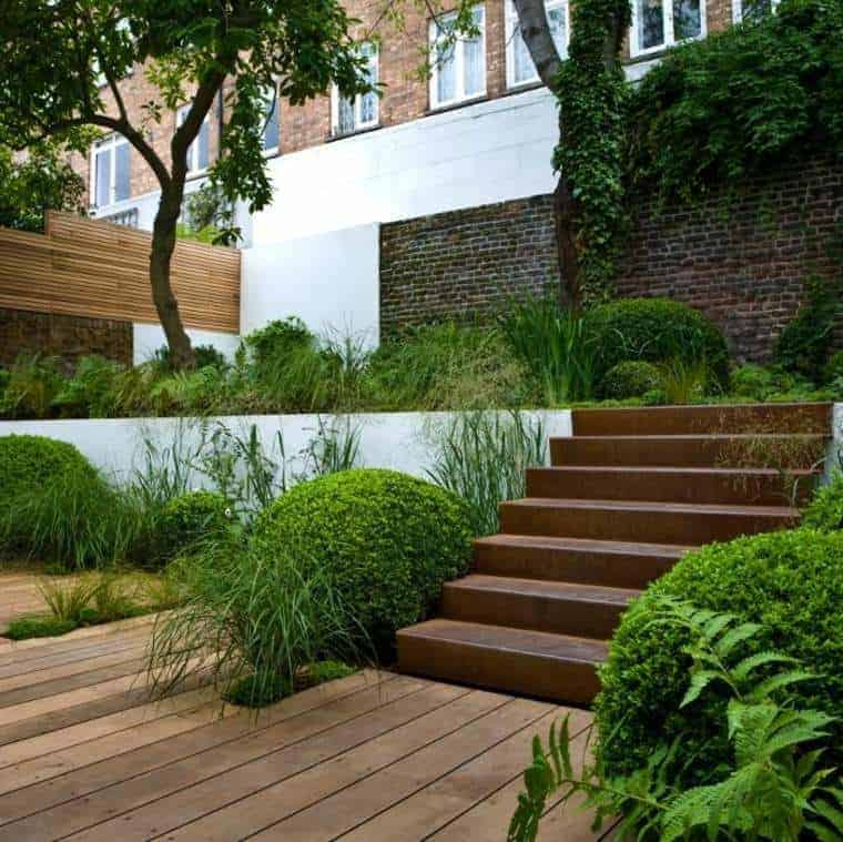 Corten Steel: 50 Very Trendy Garden Decor Ideas 9 - Patio & Outdoor Furniture