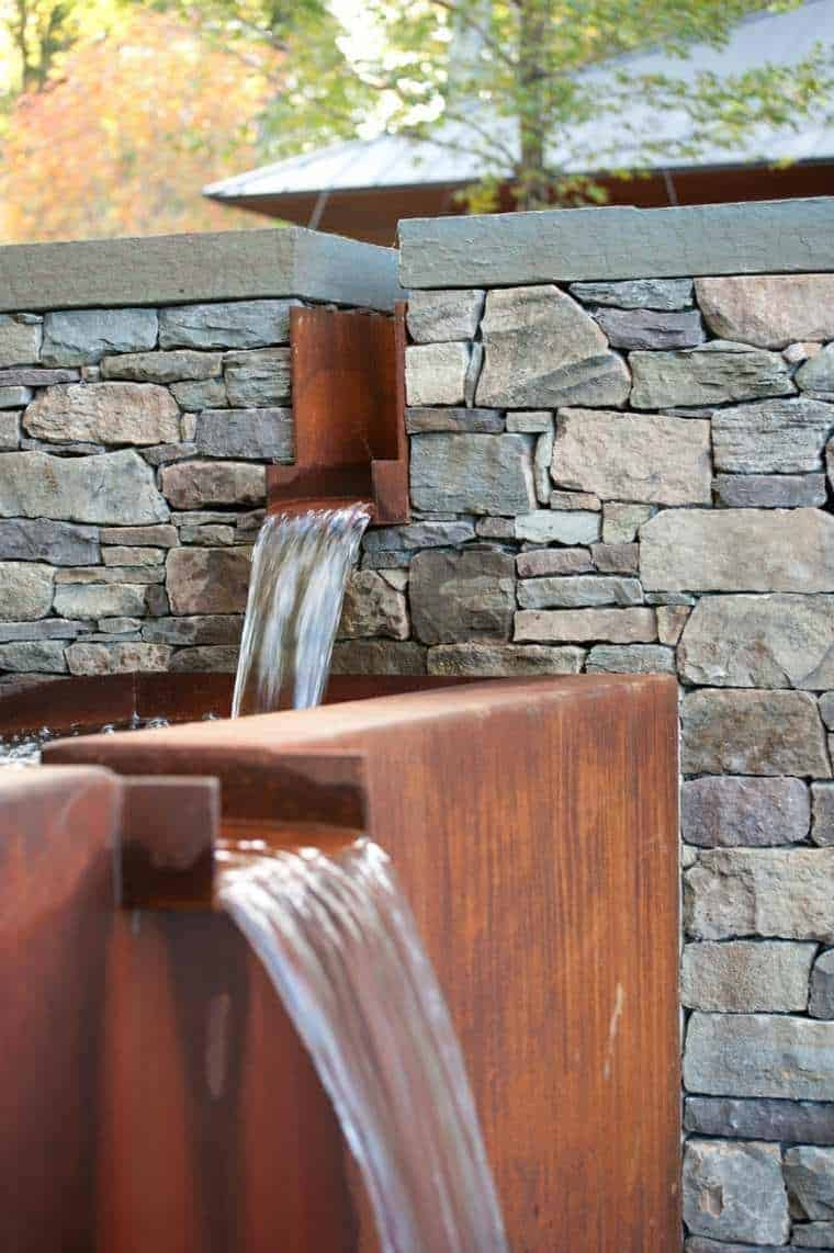 Corten Steel: 50 Very Trendy Garden Decor Ideas 15 - Patio & Outdoor Furniture