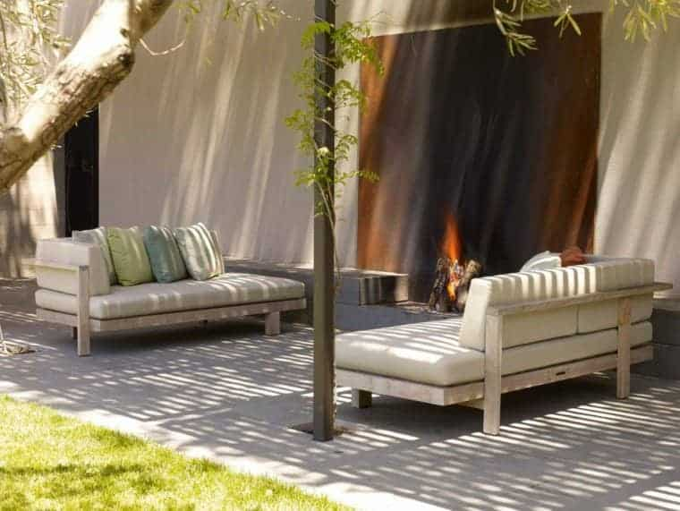 Corten Steel: 50 Very Trendy Garden Decor Ideas 5 - Patio & Outdoor Furniture