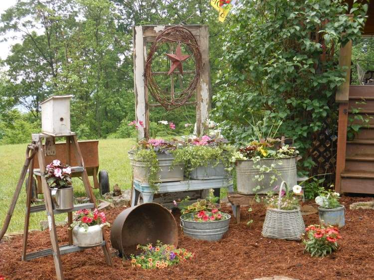 31 Tricky Ideas for Your Garden Decoration 7 - Garden Decor - 1001 Gardens