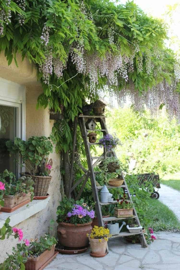 31 tricky ideas for your garden decoration 1001 gardens - Idees deco jardin recup ...