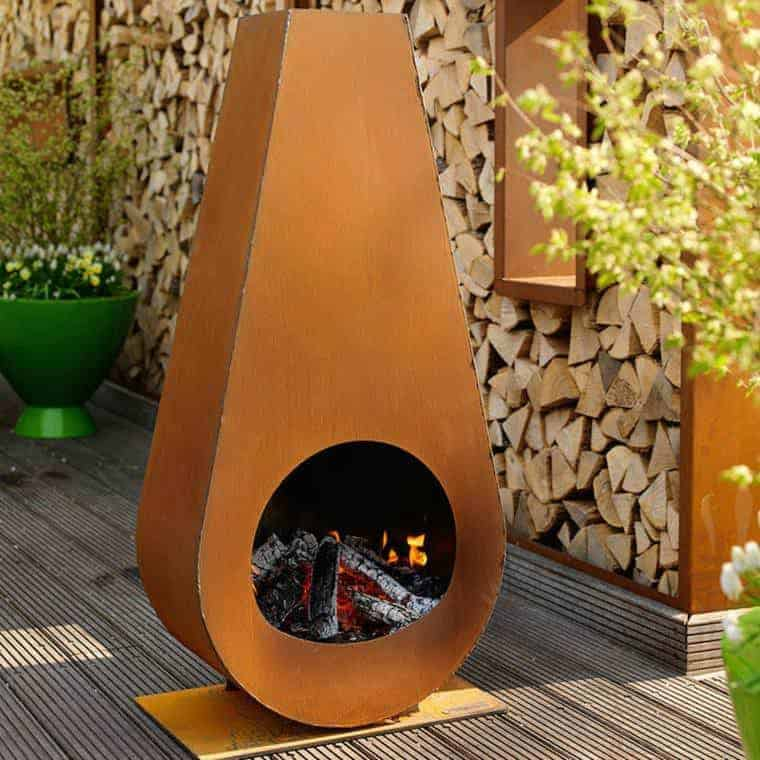 Corten Steel: 50 Very Trendy Garden Decor Ideas 81 - Patio & Outdoor Furniture