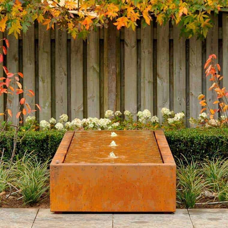 Corten Steel: 50 Very Trendy Garden Decor Ideas 75 - Patio & Outdoor Furniture