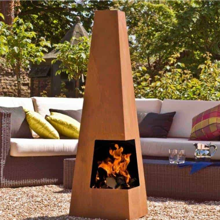 Corten Steel: 50 Very Trendy Garden Decor Ideas 65 - Patio & Outdoor Furniture