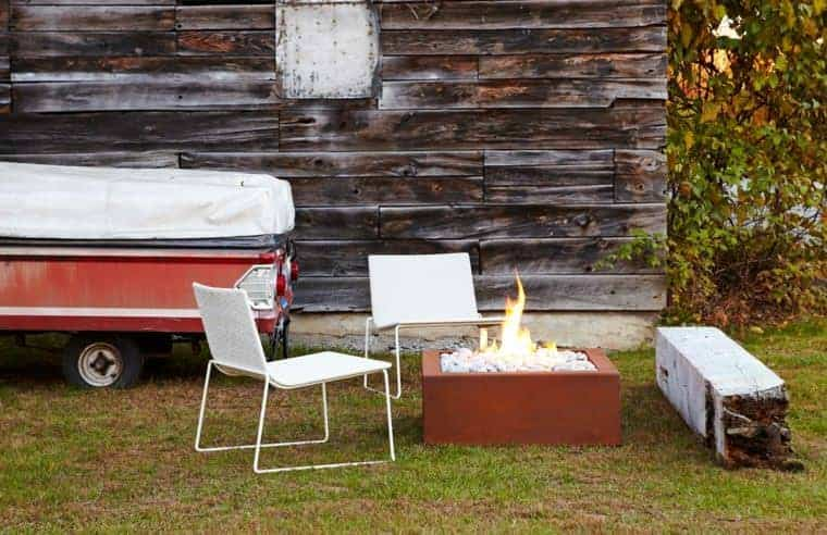 Corten Steel: 50 Very Trendy Garden Decor Ideas 17 - Patio & Outdoor Furniture