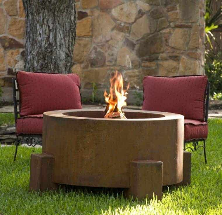 Corten Steel: 50 Very Trendy Garden Decor Ideas 53 - Patio & Outdoor Furniture