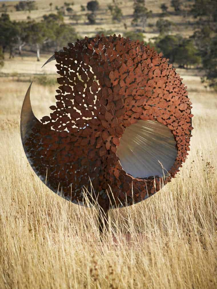 Corten Steel: 50 Very Trendy Garden Decor Ideas 29 - Patio & Outdoor Furniture