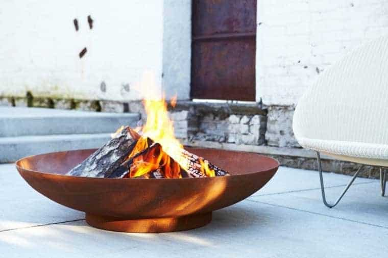 Corten Steel: 50 Very Trendy Garden Decor Ideas 23 - Patio & Outdoor Furniture