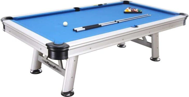 Playcraft Extera Outdoor Billiard Table with Playing Equipment