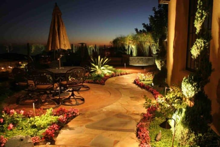 How to Set Up Landscape Lighting Efficiently - garden-decor