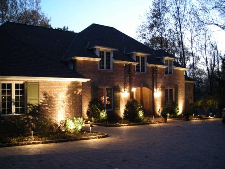 How to Set Up Landscape Lighting Efficiently : 1001 Gardens