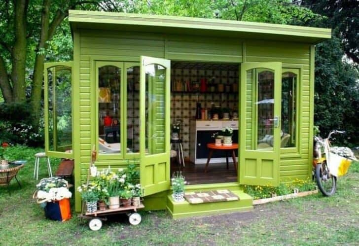 Livable Sheds Guide and Ideas 10 - Summer & Tree Houses - 1001 Gardens