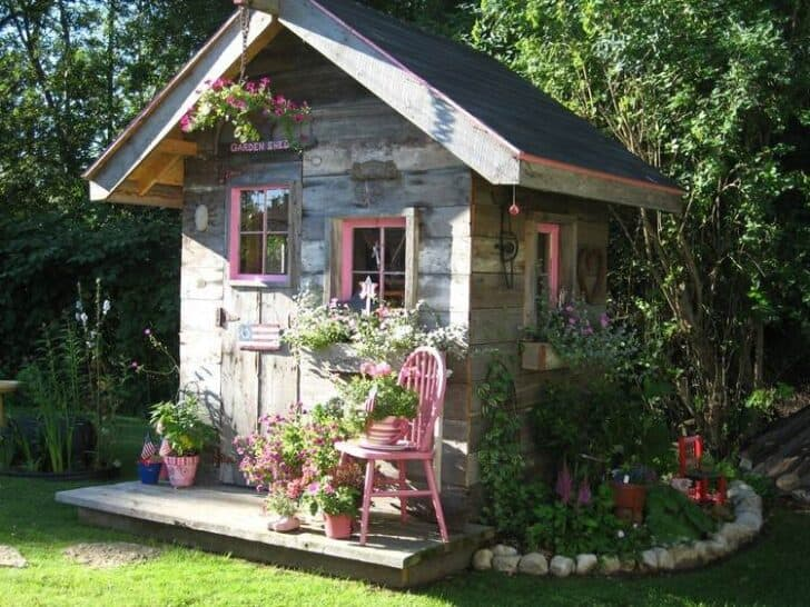Livable Sheds Guide and Ideas 11 - Summer & Tree Houses - 1001 Gardens