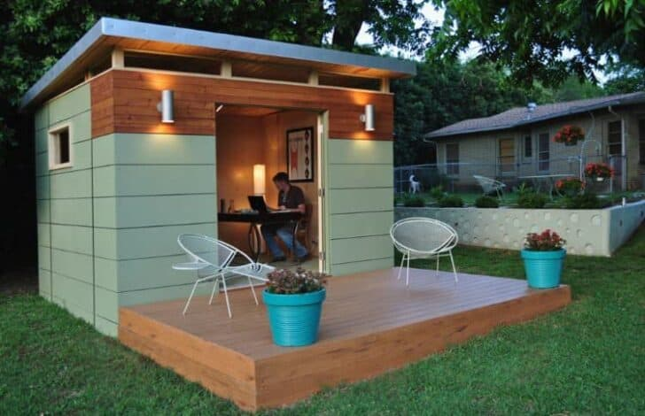 Livable Sheds Guide and Ideas 13 - Summer & Tree Houses - 1001 Gardens