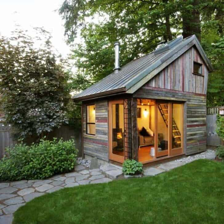 Livable Sheds Guide and Ideas 15 - Summer & Tree Houses - 1001 Gardens