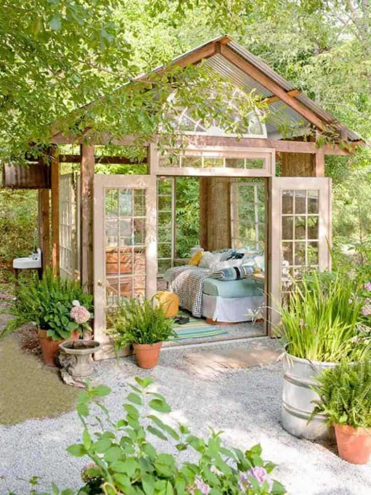 Livable Sheds Guide and Ideas 16 - Summer & Tree Houses - 1001 Gardens