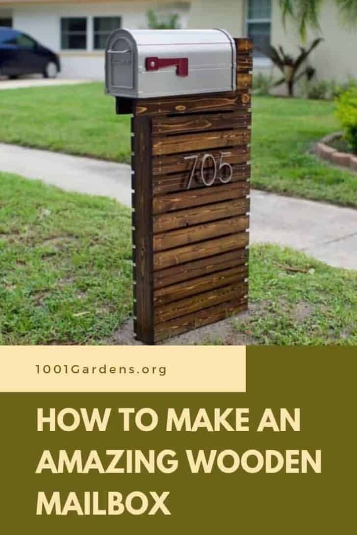 How to Make an Amazing Wooden Mailbox