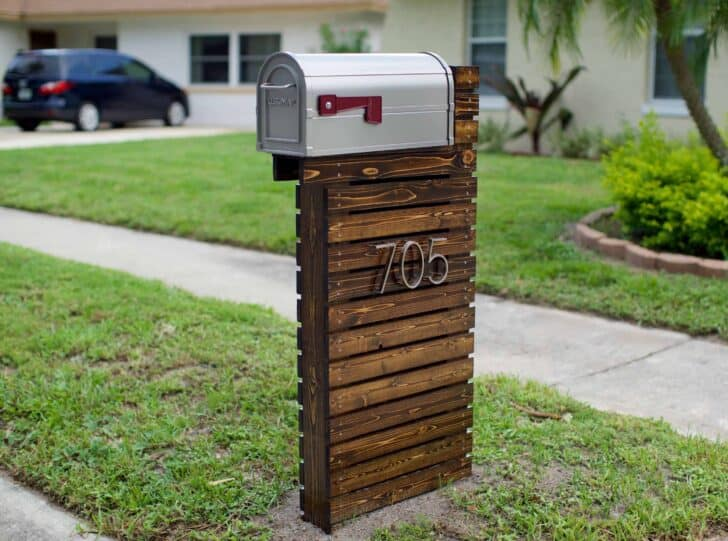 How to Make an Amazing Wooden Mailbox 1 - Privacy Fences & Garden Gates