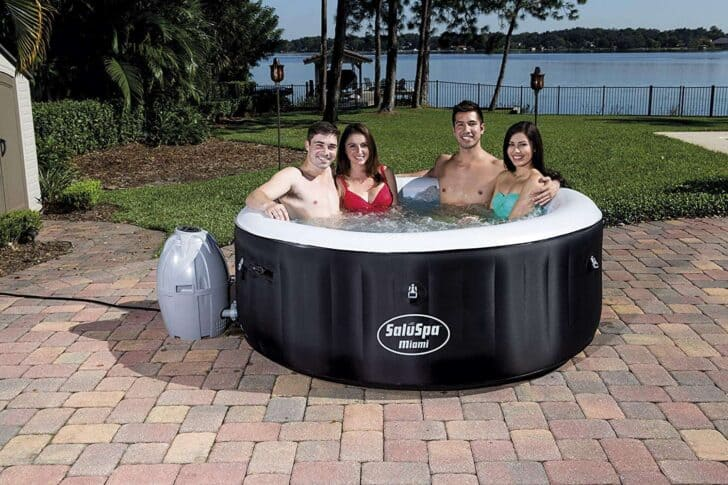 Bestway SaluSpa Miami AirJet Inflatable Hot Tub