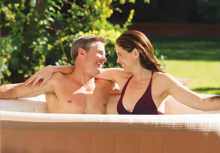 Portable Hottub accessibility has increased with advancing technology allowing spas to be plugged into standard household plugs without special wiring. They can be inflatable styles so they're easy to buy, move, and set up by one person!