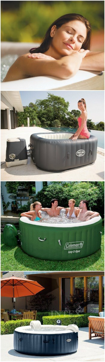 Best Inflatable Hot Tub 2018 Guide • 1001 Gardens