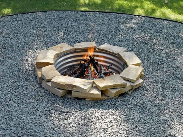 How to Build a Fire Pit Ring - grills-bbq-firepits