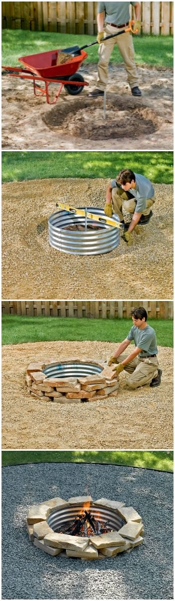 How to Build a Fire Pit Ring 5 - Fire Pits & Grills