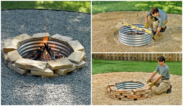 How to Build an Outdoor Fireplace - grills-bbq-firepits