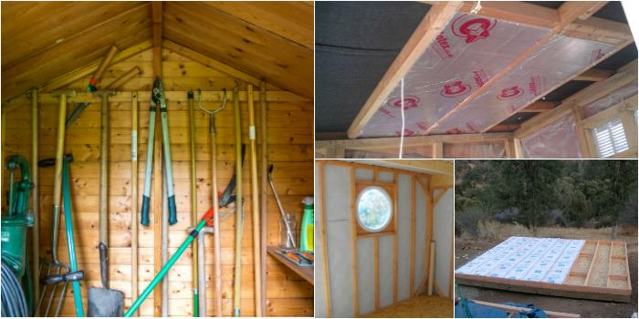 How To Insulate A Shed 1001 Gardens