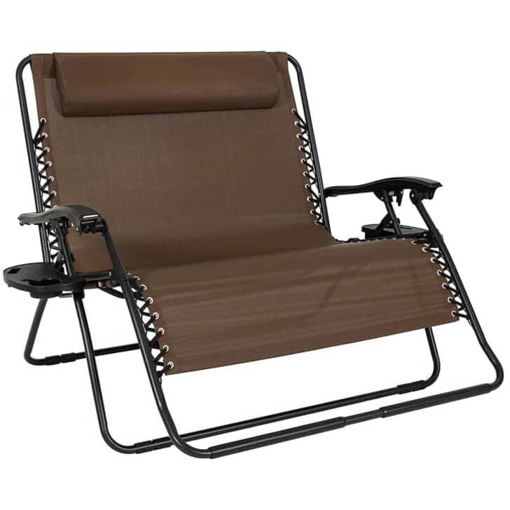 Awesome Best Choice Products Folding 2 Person Oversized Zero Gravity Lounge Chair Amazing Pictures