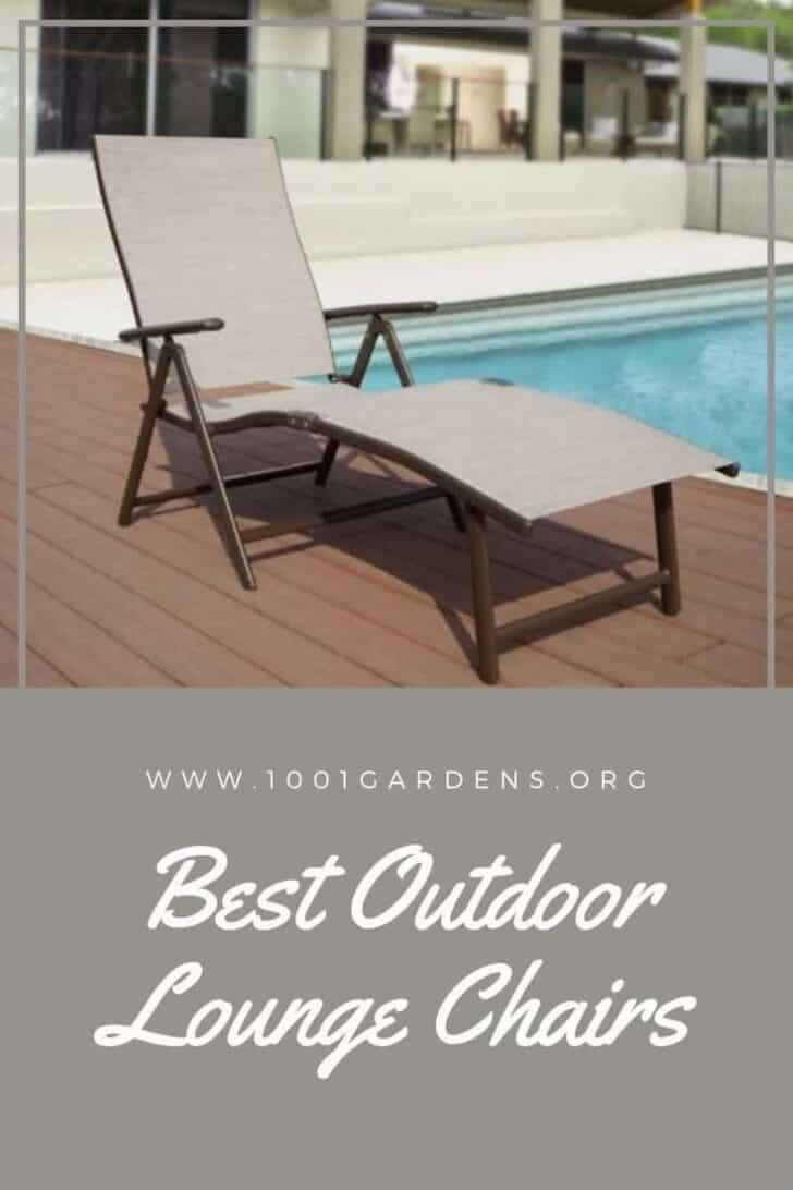 Best Outdoor Lounge Chairs 2019 (updated)