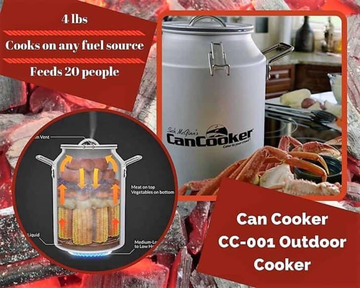 This Can Cooker should be added to your Top 6 Portable Gas Grills tools.