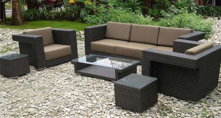 Wicker Patio Furniture Ideas Outdoor
