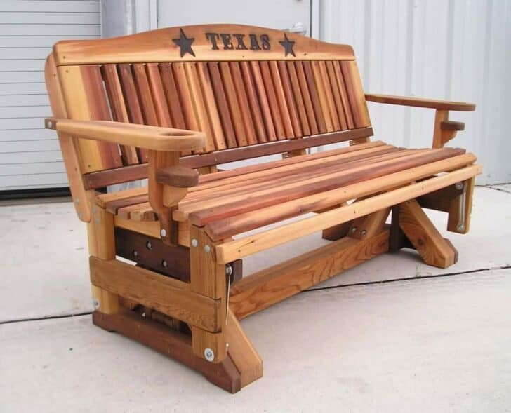 Outdoor Glider Bench