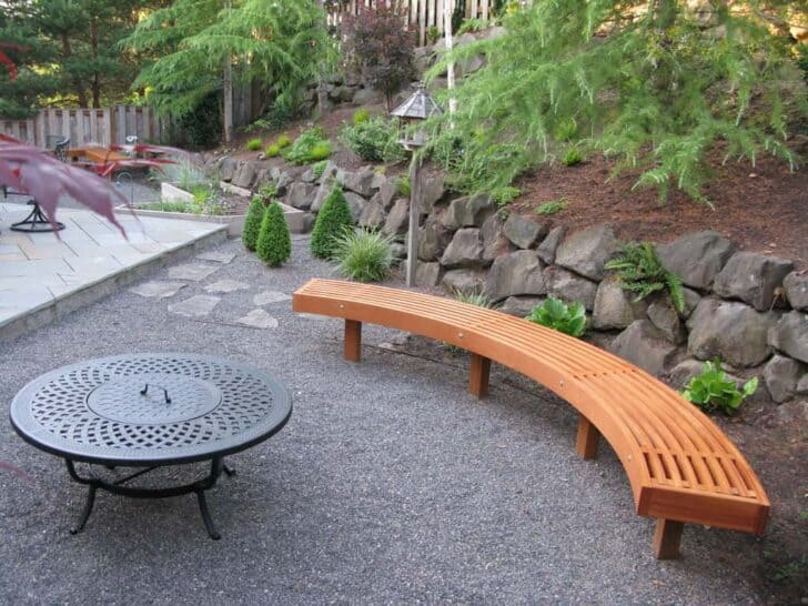 Outdoor Wood Bench Part - 33: Outdoor Wooden Bench, The Best Place To Seat - Patio-outdoor-furniture