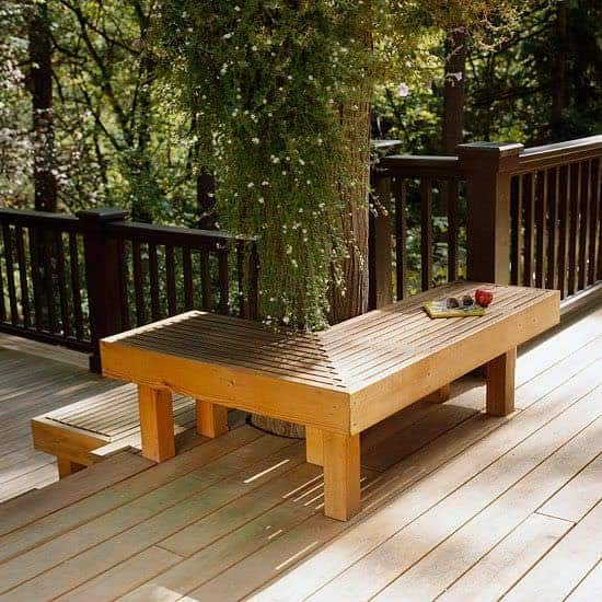 Swell Outdoor Wooden Bench The Best Place To Seat 1001 Gardens Lamtechconsult Wood Chair Design Ideas Lamtechconsultcom