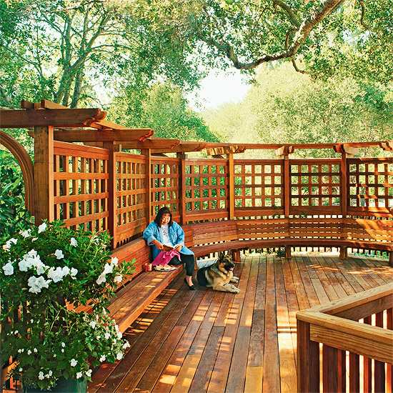 Outdoor Wooden Bench, The Best Place to Seat 1 - Patio & Outdoor Furniture - 1001 Gardens