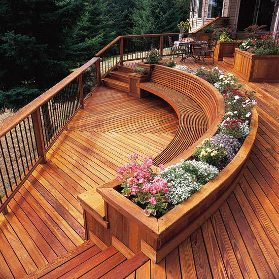 Outdoor Wooden Bench, The Best Place to Seat 5 - Patio & Outdoor Furniture - 1001 Gardens