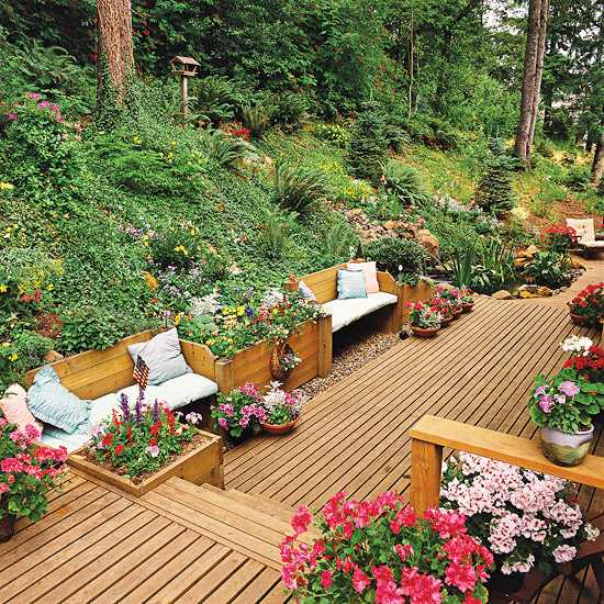 Outdoor Wooden Bench, The Best Place to Seat 6 - Patio & Outdoor Furniture - 1001 Gardens