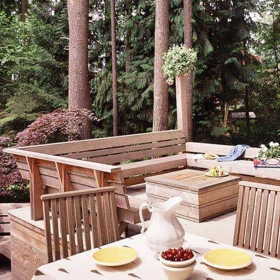 Outdoor Wooden Bench, The Best Place to Seat 9 - Patio & Outdoor Furniture - 1001 Gardens