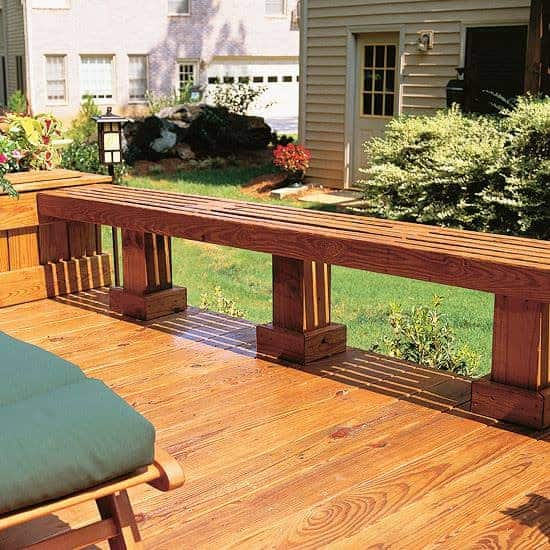 Outdoor Wooden Bench, The Best Place to Seat 14 - Patio & Outdoor Furniture - 1001 Gardens