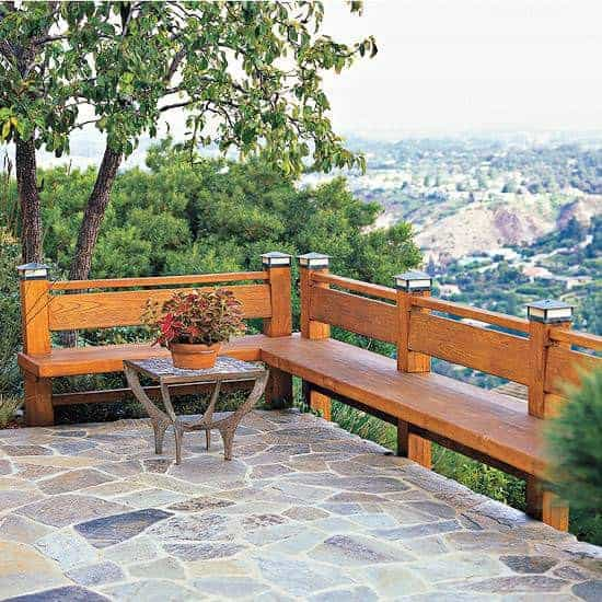 Outdoor Wooden Bench, The Best Place to Seat 15 - Patio & Outdoor Furniture - 1001 Gardens
