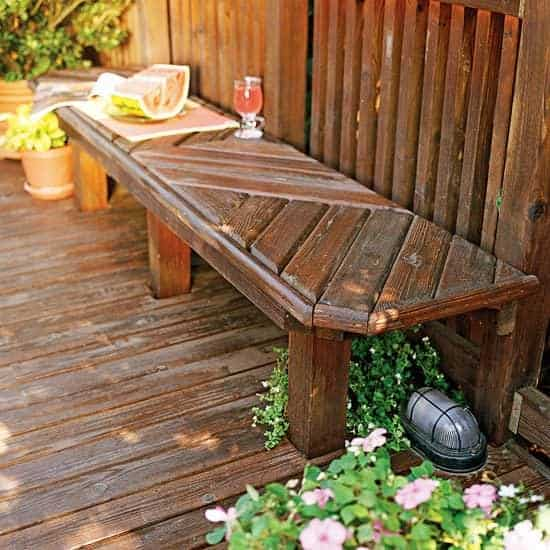 Outdoor Wooden Bench, The Best Place to Seat 16 - Patio & Outdoor Furniture - 1001 Gardens