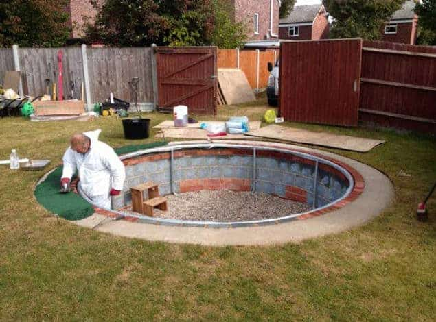 Top 10 diy pool ideas and tips 1001 gardens How to draw swimming pool water