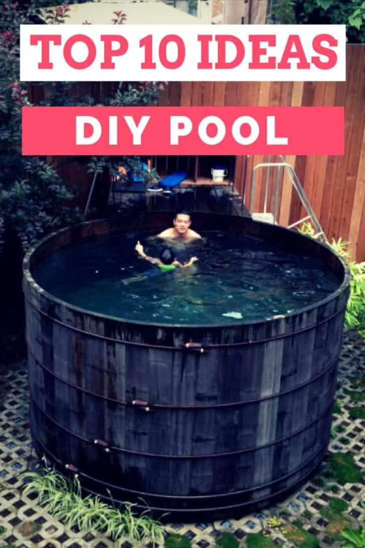 Top 10 DIY Pool Ideas and Tips