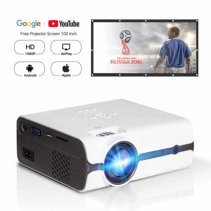 DOACE P3 HD 1080P Video Projector