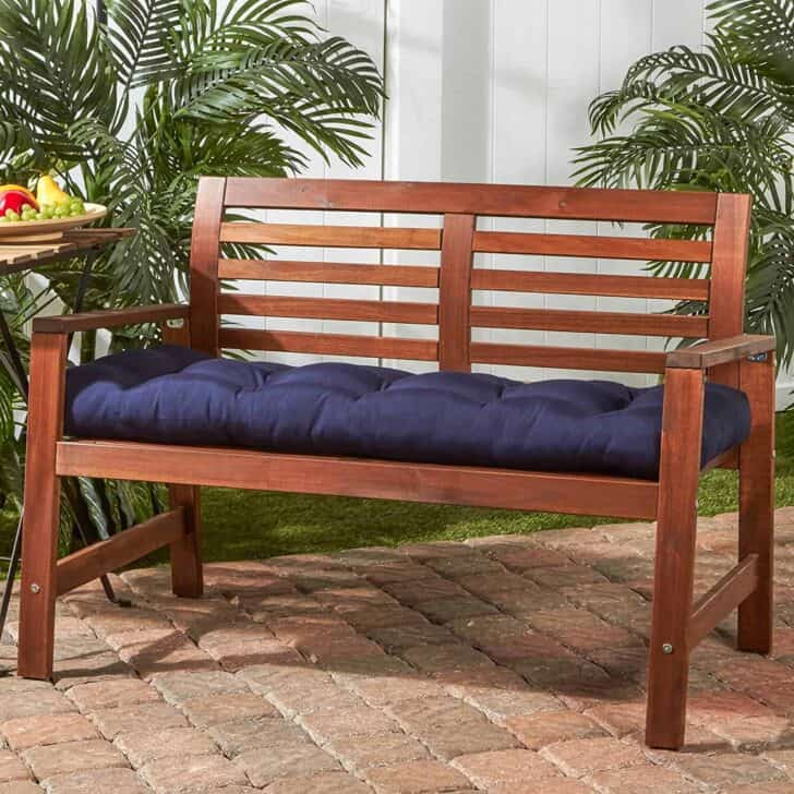 Outdoor Bench Cushions Selection - patio-outdoor-furniture