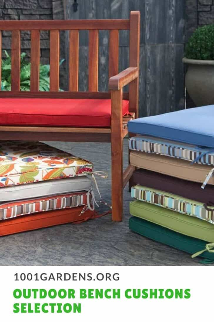 Best Outdoor Bench Cushions 7 - Patio & Outdoor Furniture
