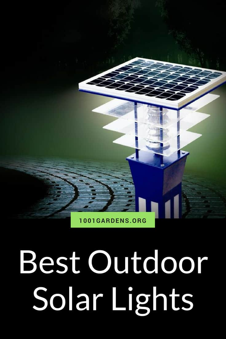 Best Outdoor Solar Lights for your Garden • 1001 Gardens